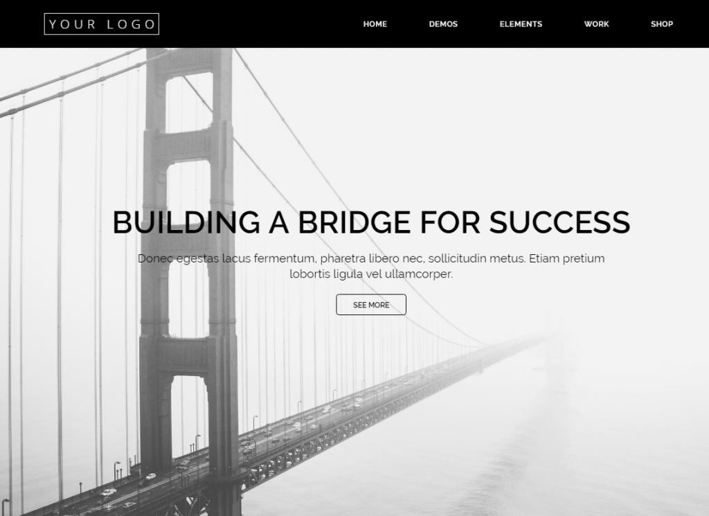 Website Demo - Simple/Bold