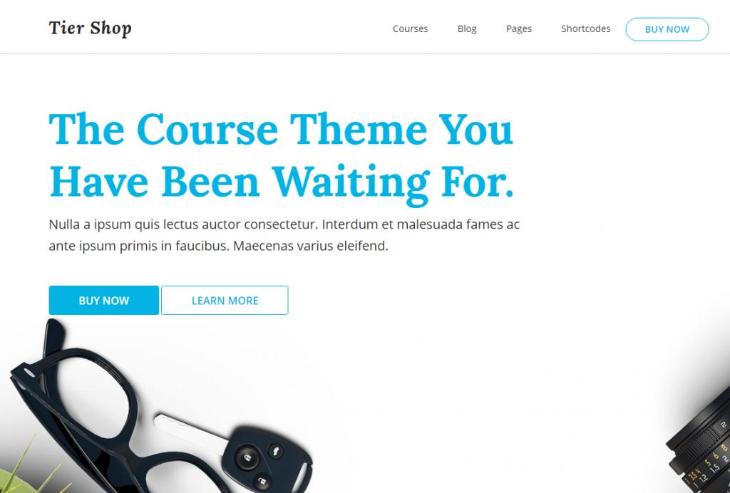 Website Demo - Tier Shop