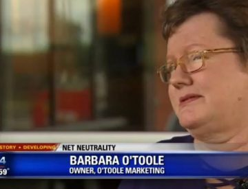 Barbara O'Toole Featured on Local News Channel